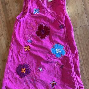 Hot pink corduroy jumper!